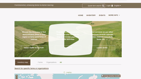 FARMDEMO Youtube How to register on the FarmDemo Hub