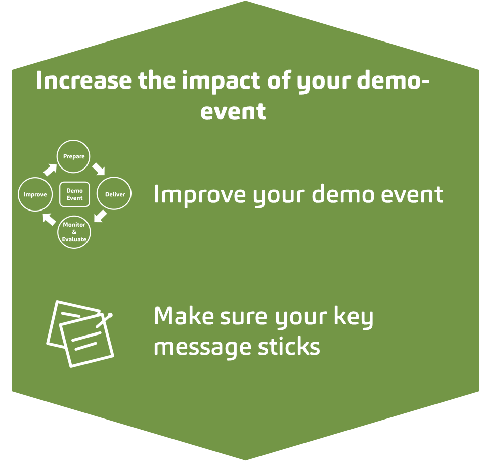 Increase impact of demo