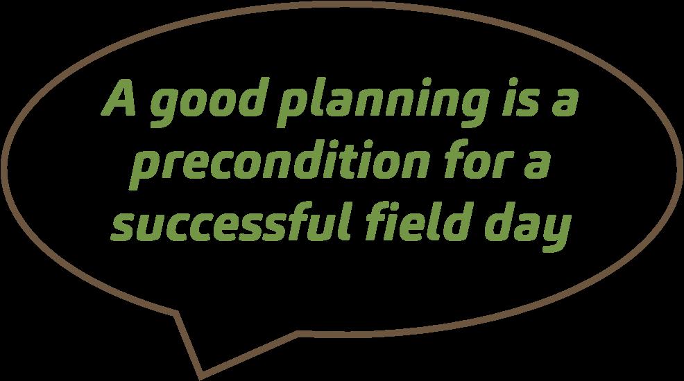 quote good planning